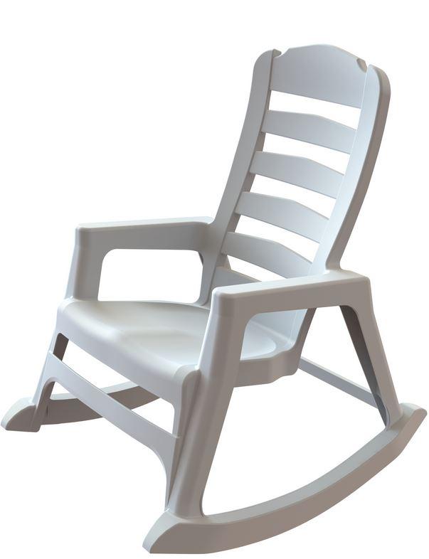 Adams Manufacturing Debuts Worldu0027s First Stacking Resin Rocking Chair